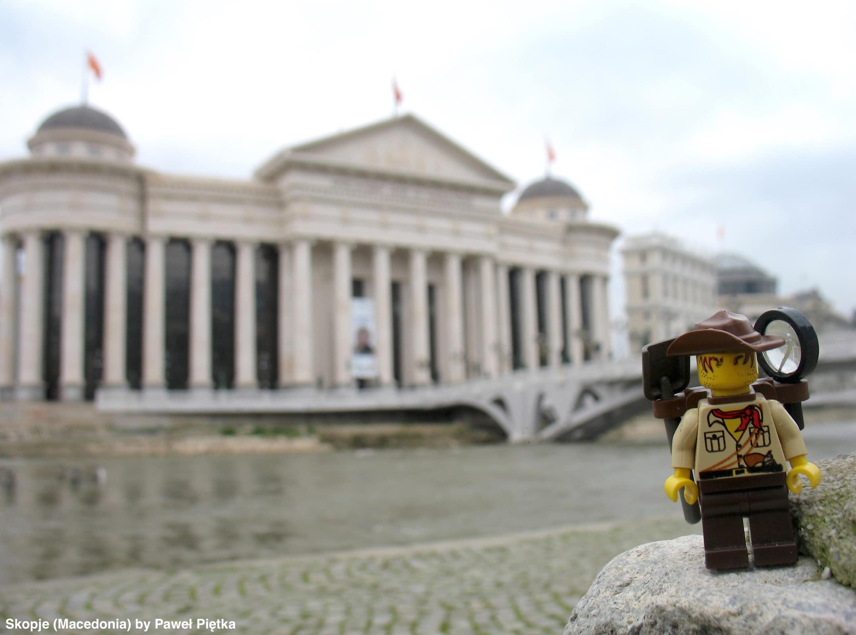 Skopje (Macedonia) - The Archeological Museum Skopje 2014 project