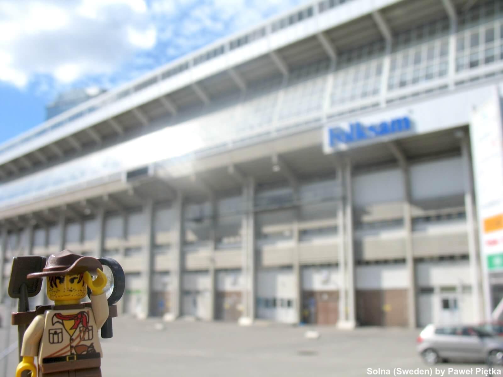 Solna (Sweden) - Rasunda Stadium 1