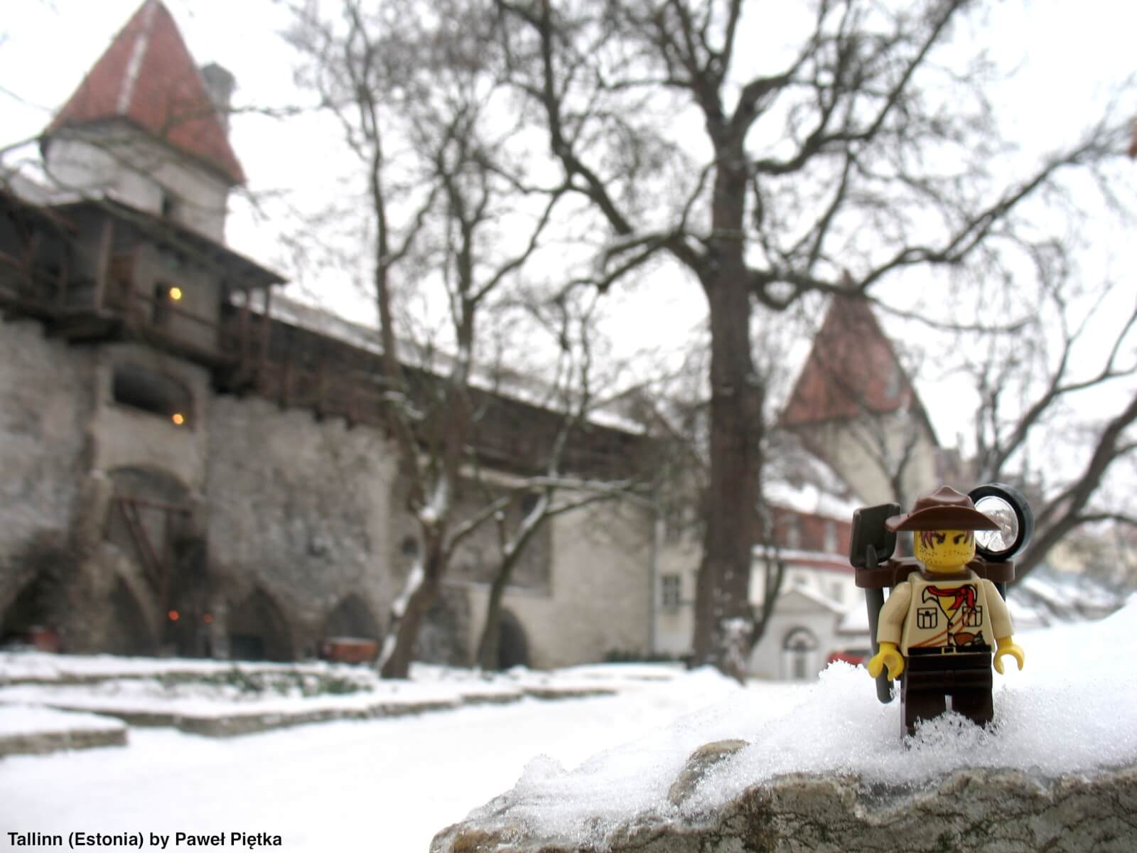 Tallinn (Estonia) - City wall