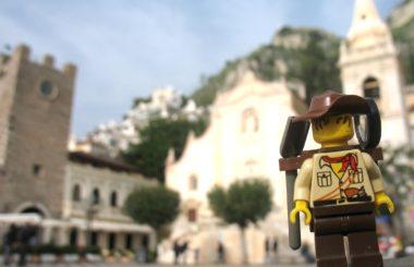 Italy: Taormina, Sicily (Lego & Travel)