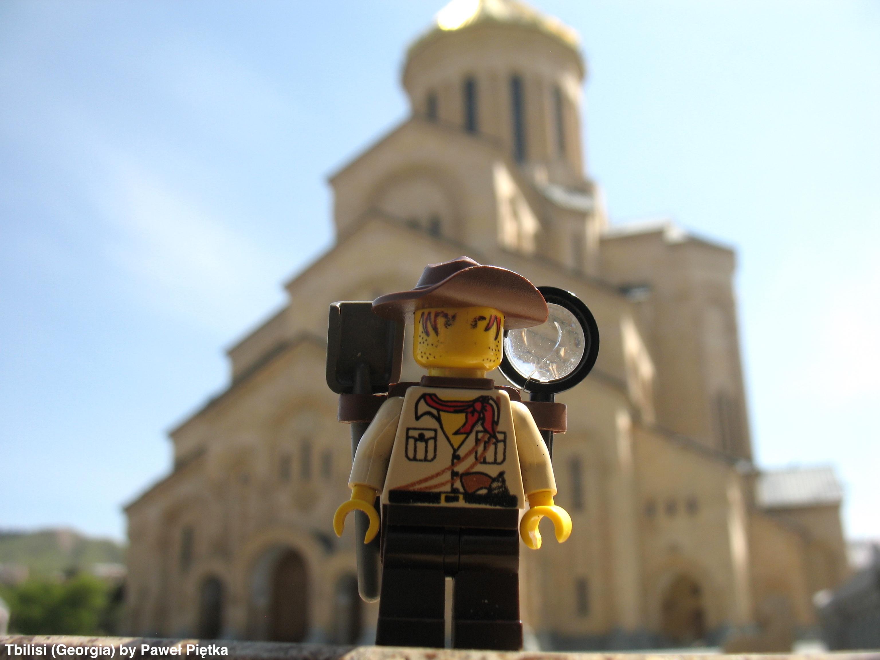 Tbilisi (Georgia) - Sameba Cathedral Holy Trinity
