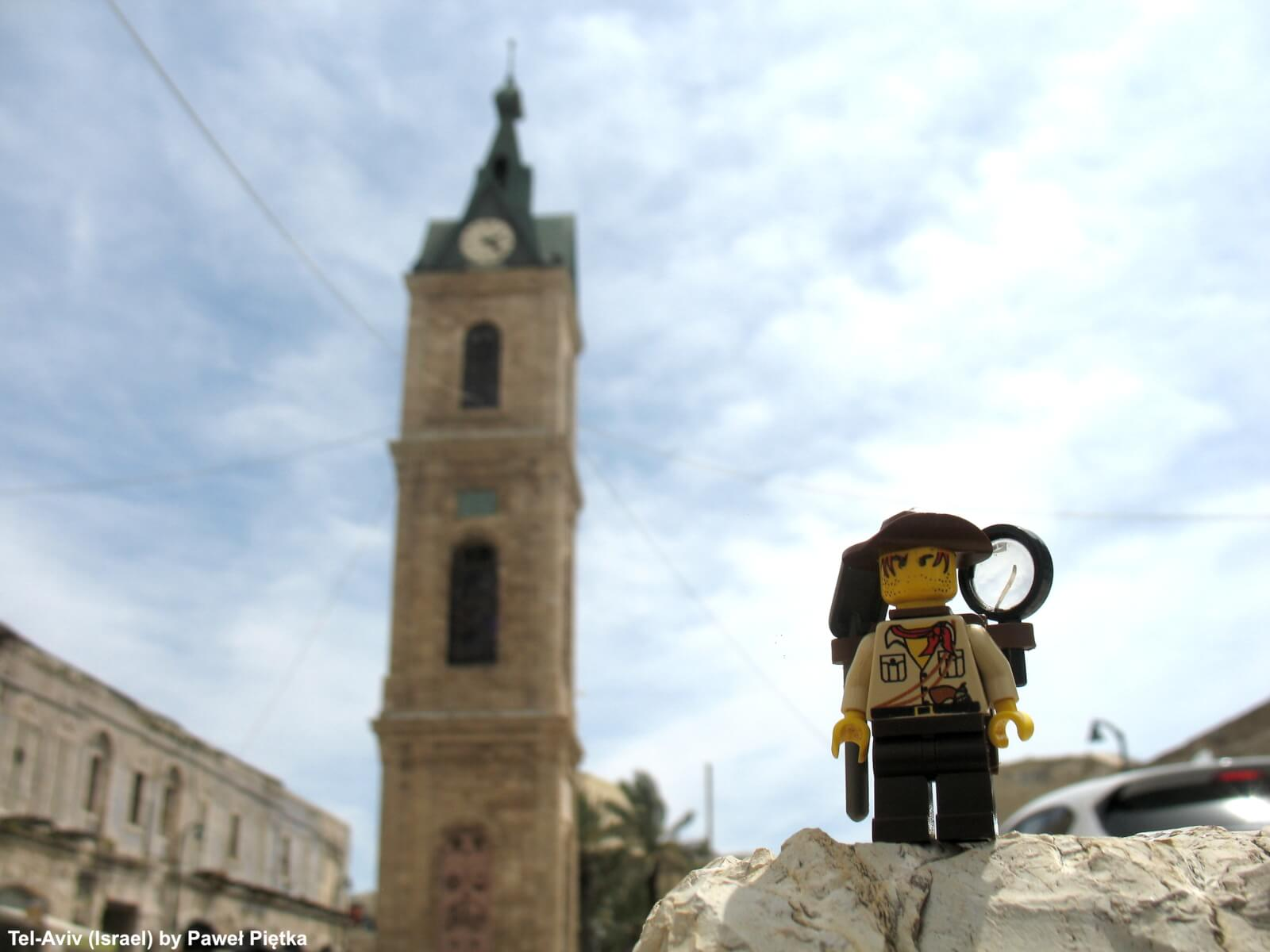 Tel-Aviv (Israel) - Jaffa Clock Tower