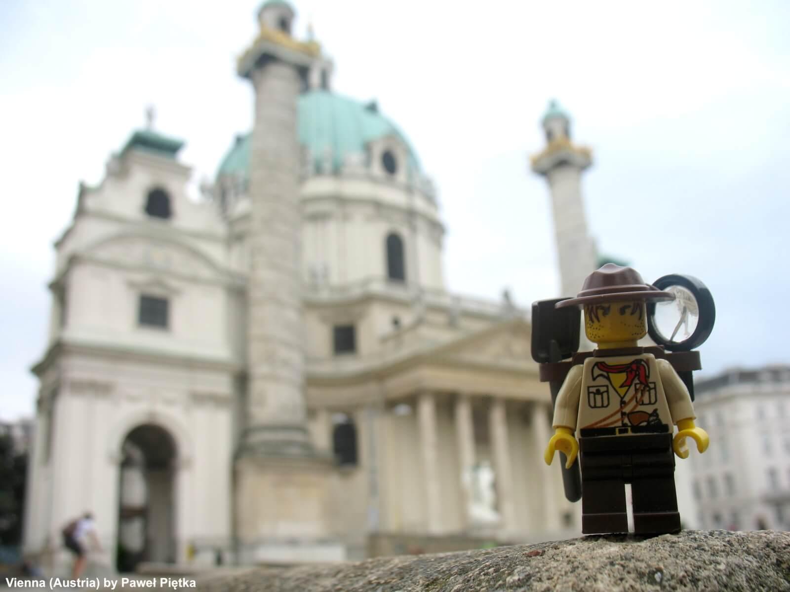Vienna (Austria) - Karlskirche St Charles Church