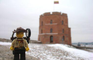 Lithuania: Vilnius (Lego & Travel)