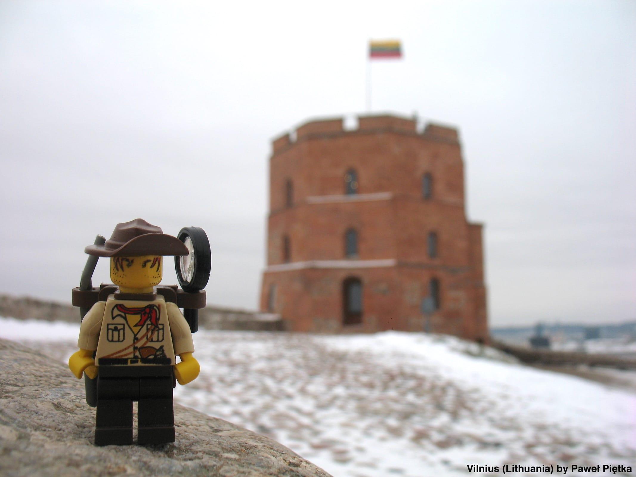 Vilnius (Lithuania) - Gediminas Tower