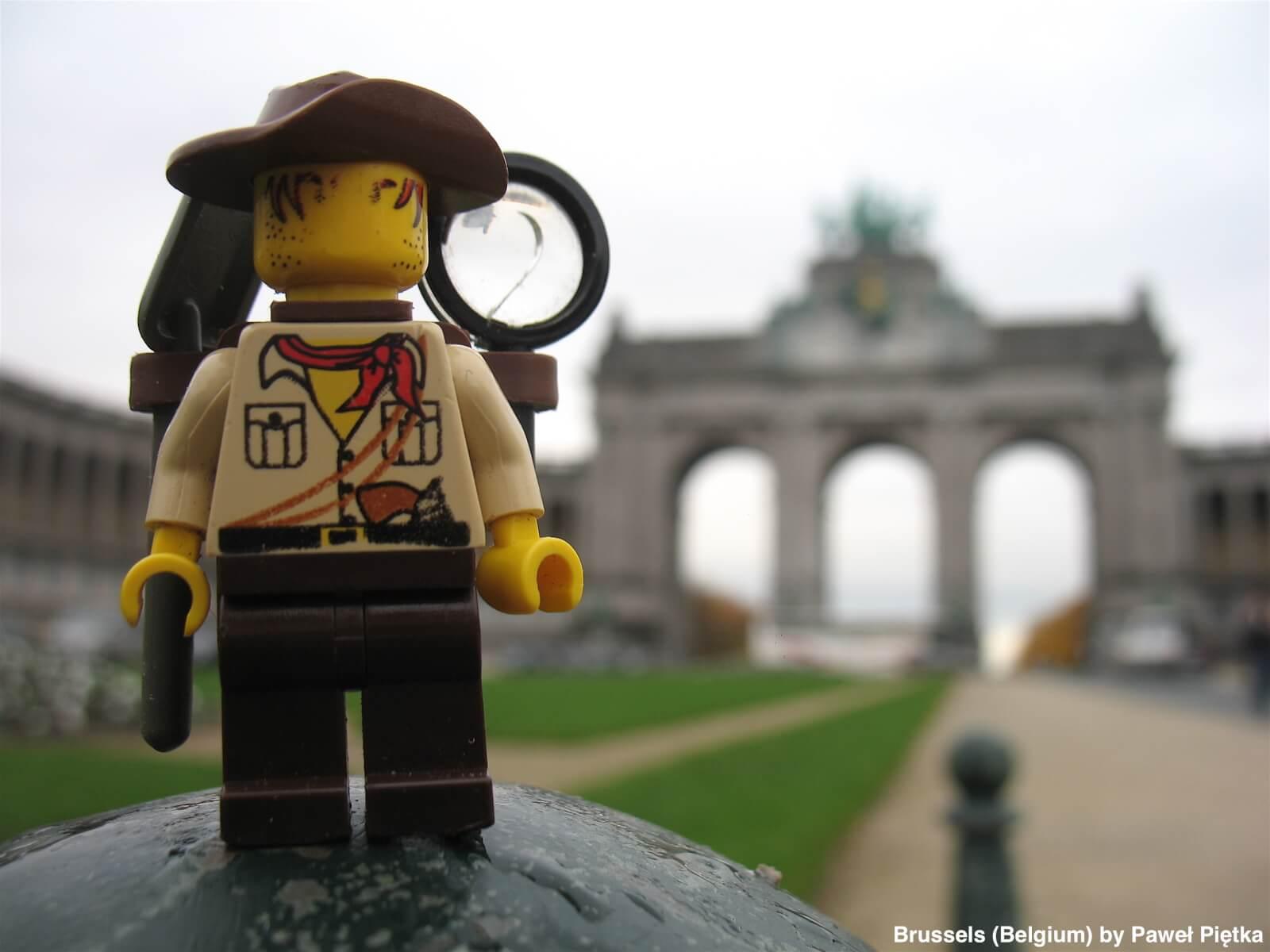 Brussels (Belgium) - Cinquantenaire triumphal arch
