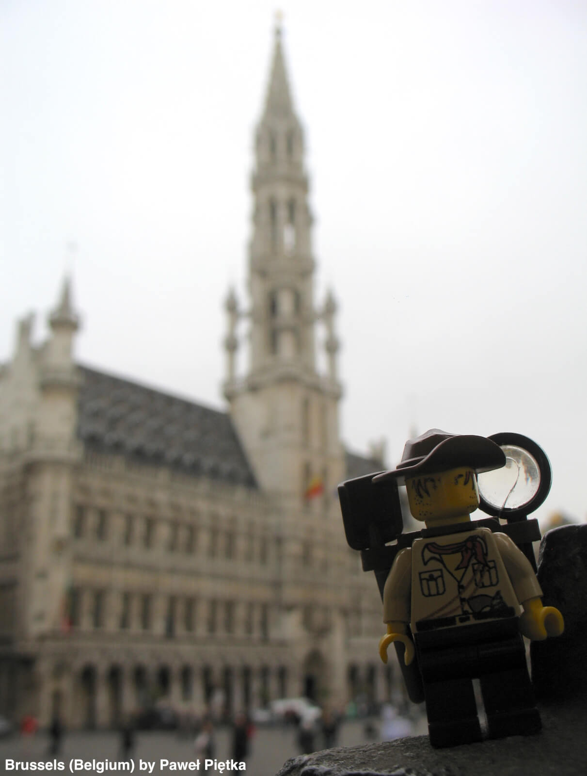 Brussels (Belgium) - Grand Place Town Hall