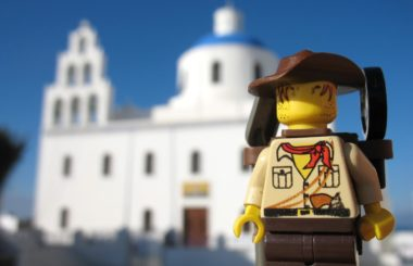 Greece: Santorini (Lego & Travel)