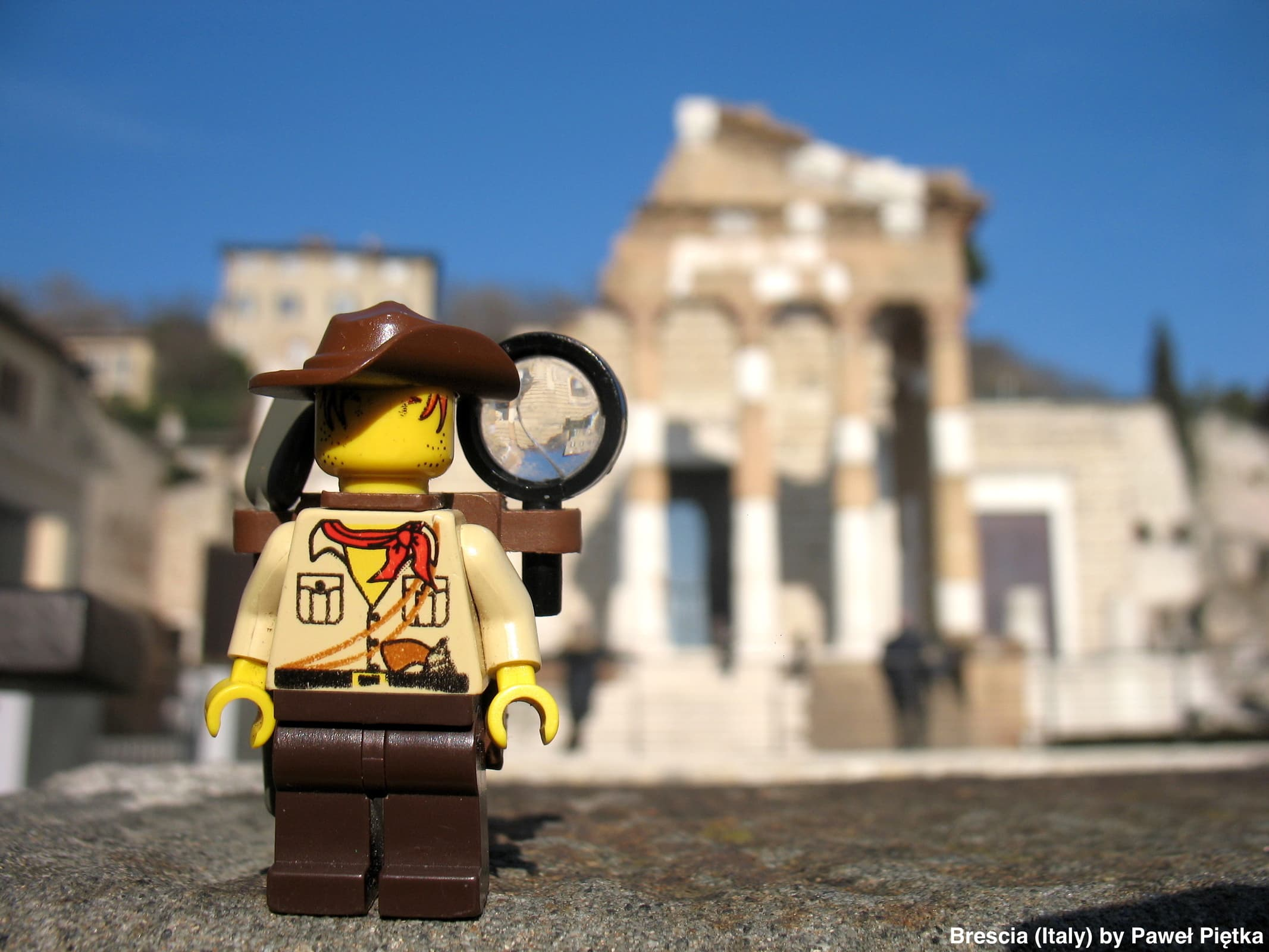 Brescia (Italy) - Capitolium Roman forum