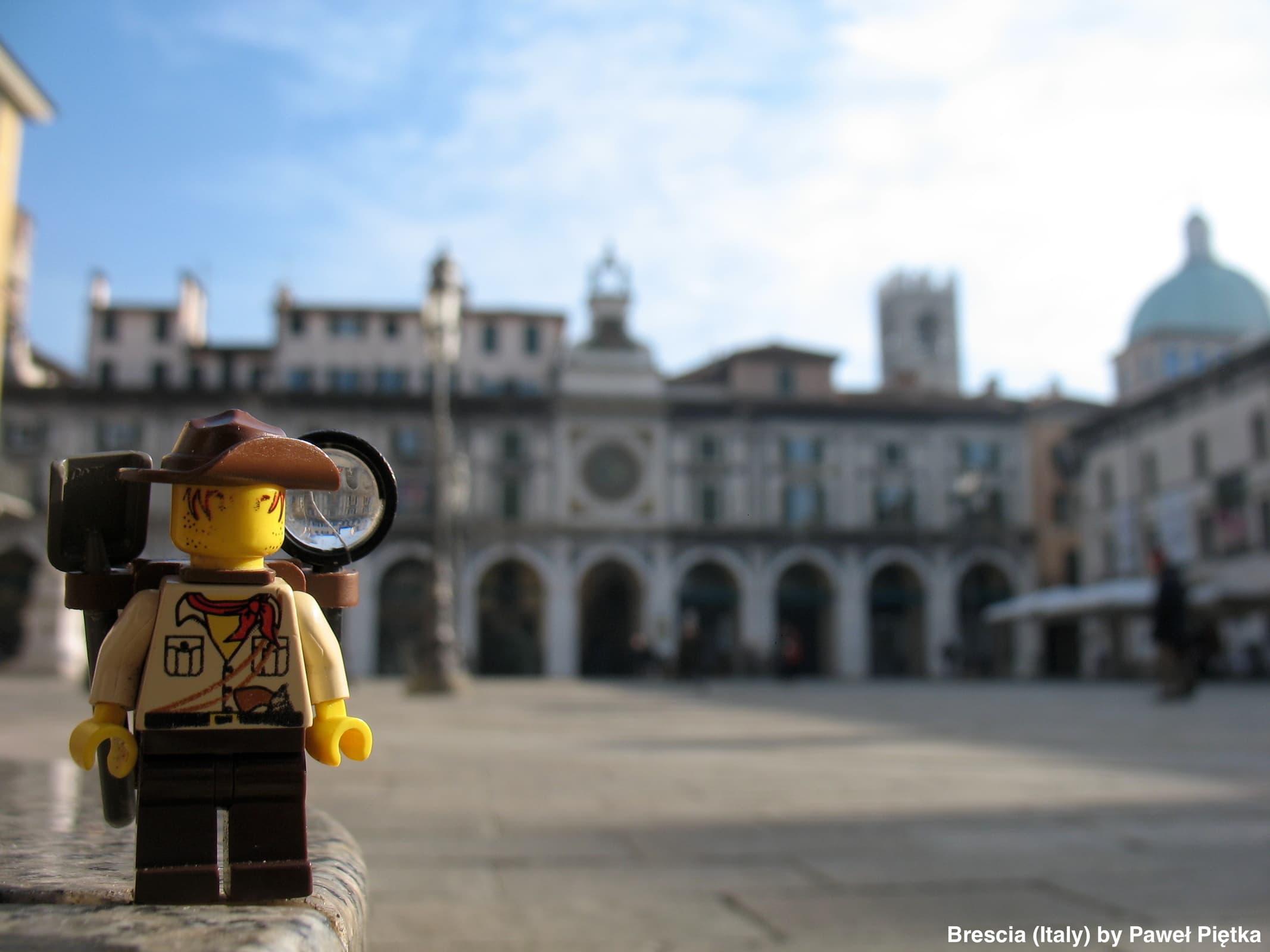 Brescia (Italy) - Piazza della Loggia astronomical clock
