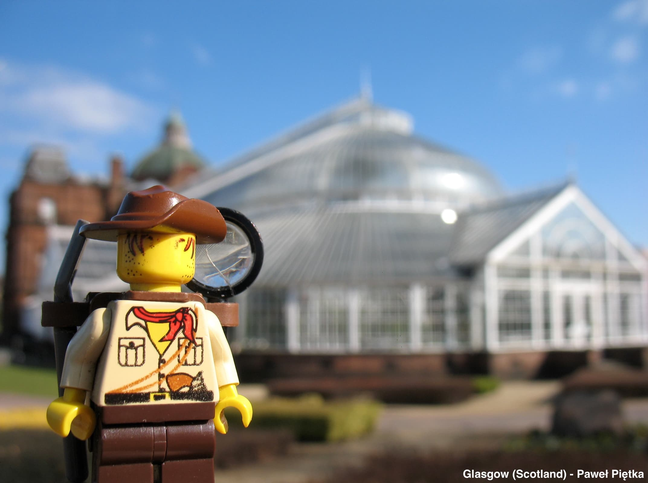 Glasgow (Scotland) - People's Palace and Winter Gardens Glasgow Green PP