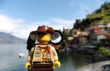 Italy: Lake Como (Lego & Travel)