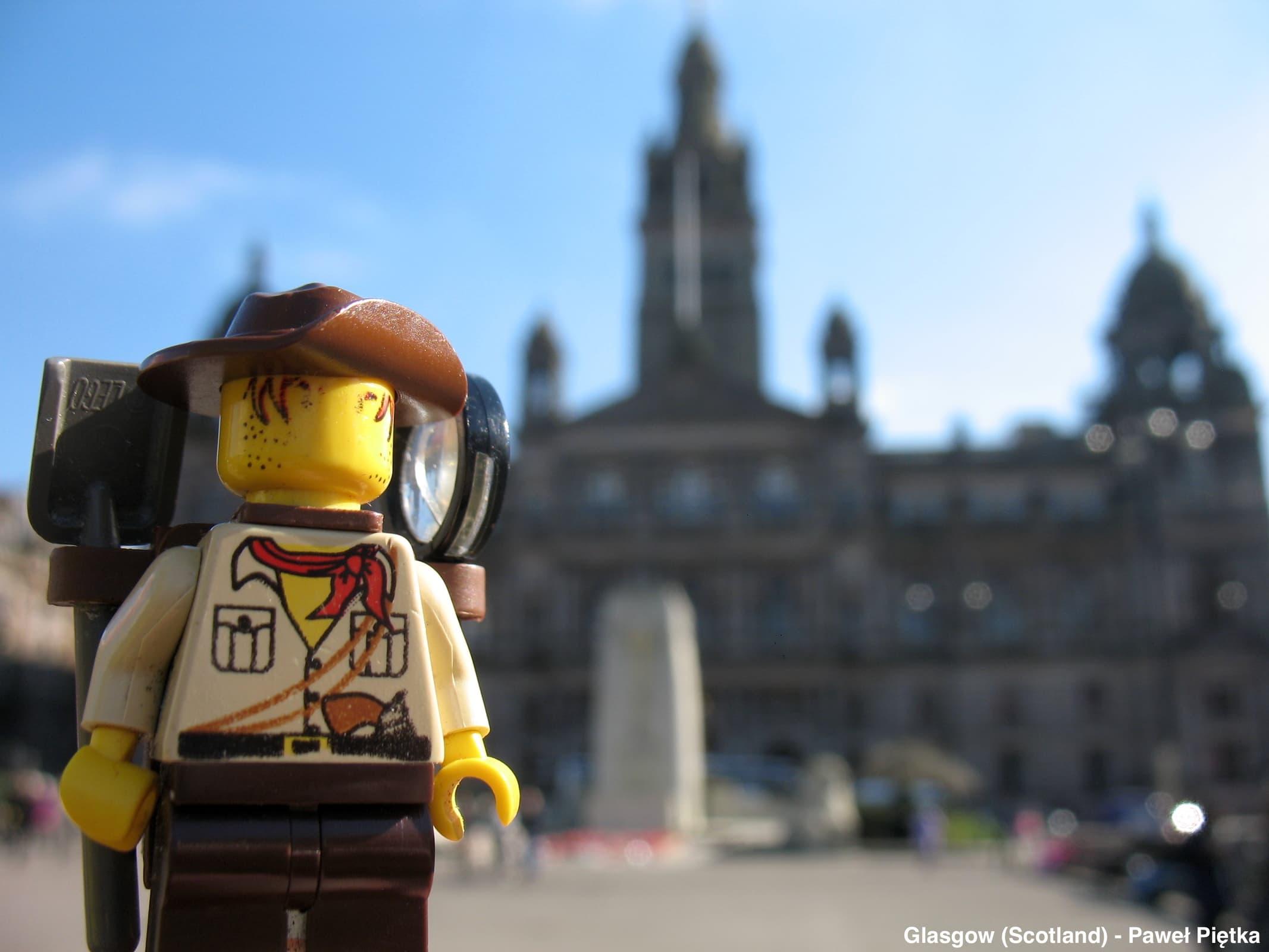 Glasgow (Scotland) - City Chambers George Square