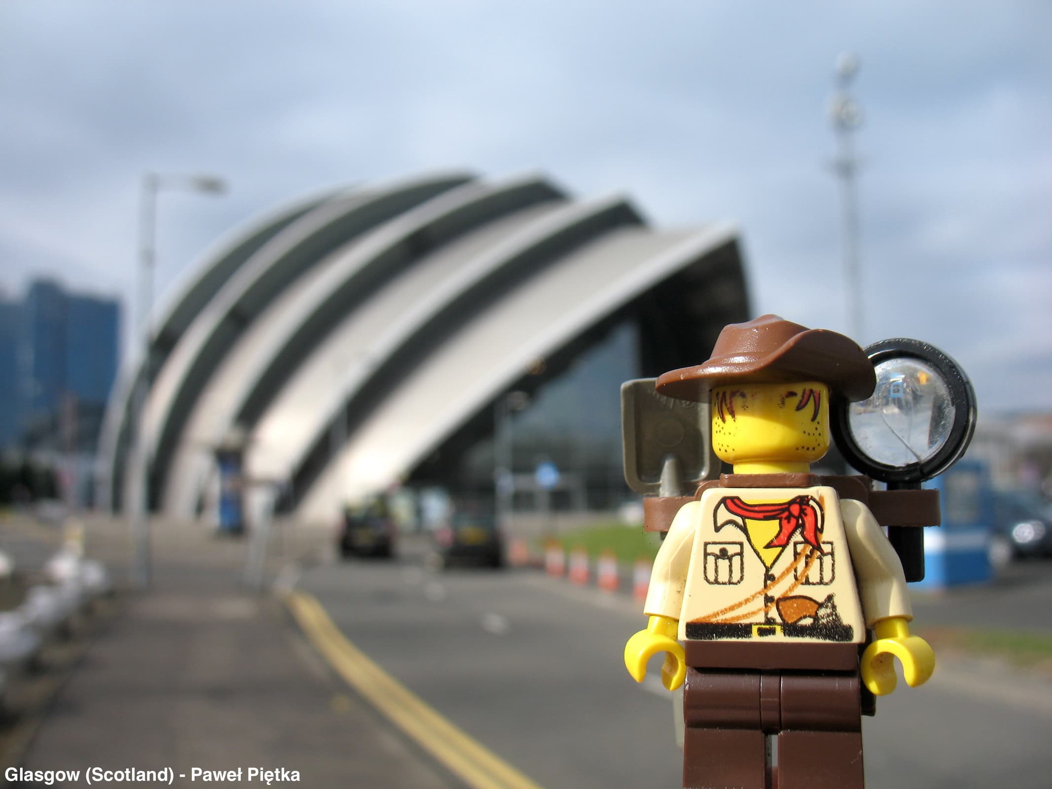 Glasgow (Scotland) - Clyde Auditorium Armadillo