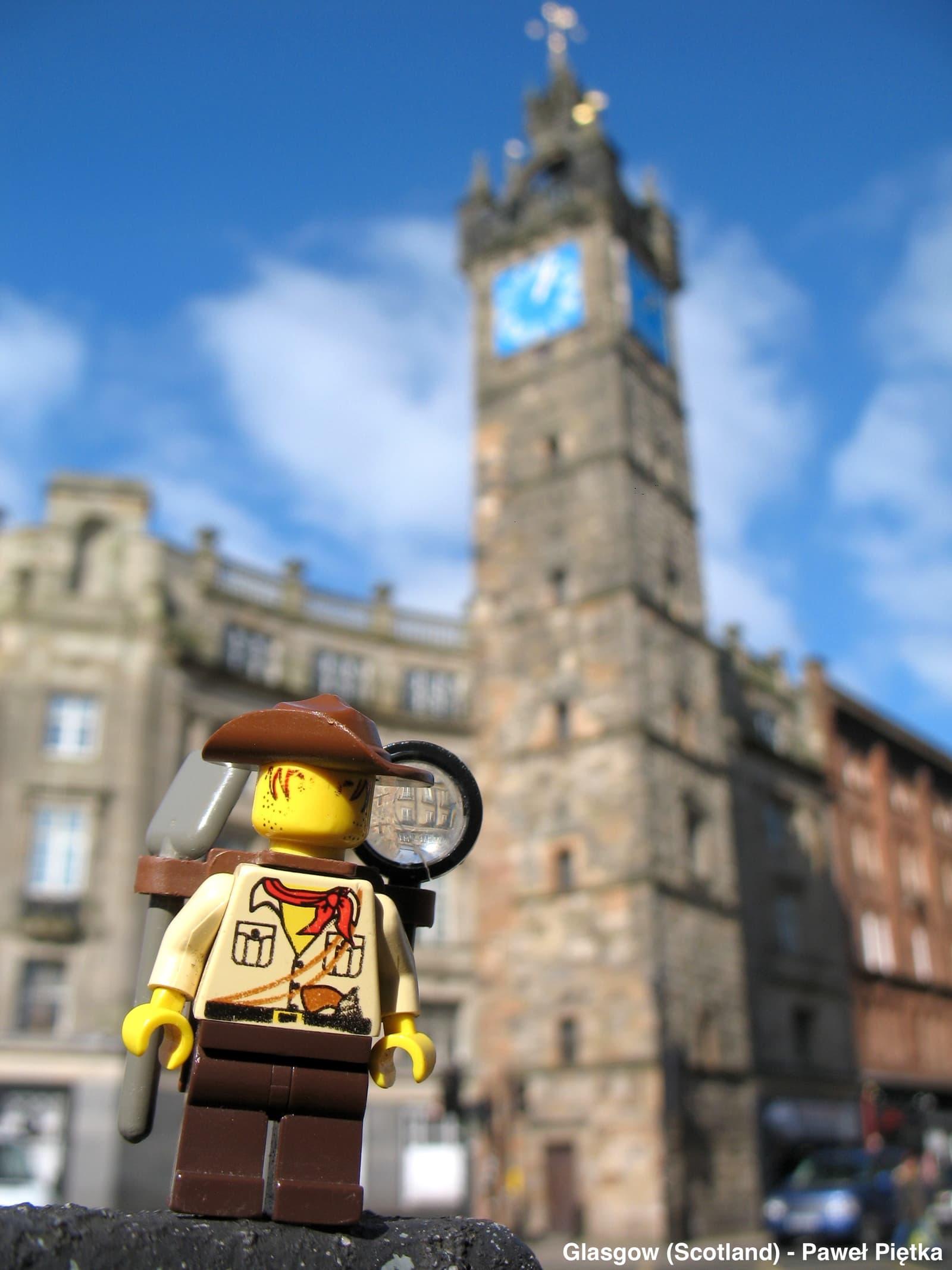 Glasgow (Scotland) - Tolbooth Steeple