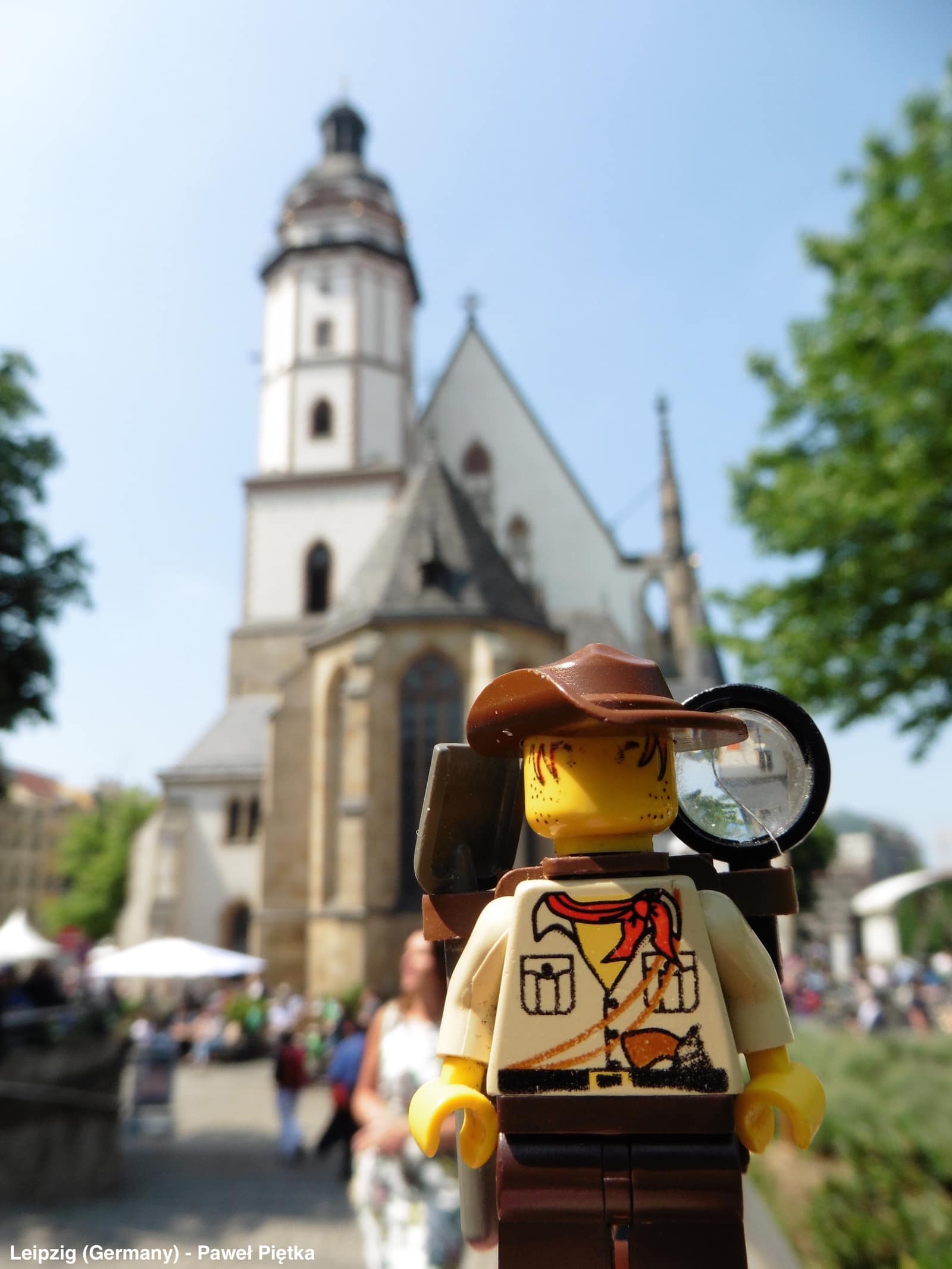 Leipzig (Germany) - St Thomas Church