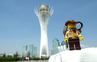 Kazakhstan: Astana (Lego & Travel)